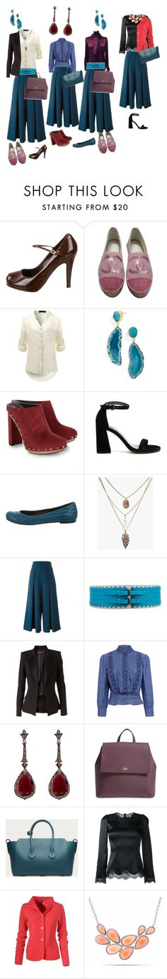 """сет 8"" by kretik on Polyvore featuring Fendi, Chanel, BaubleBar, Proenza Schouler, Stuart Weitzman, Bottega Veneta, Milly, Alexandre Vauthier, Citizens of Humanity and Annoushka"