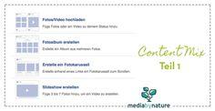 Dein Content Mix: diese 5 Beitragsarten musst du bei Facebook nutzen – Teil 1 #contentmix