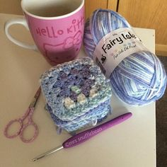 """I have a rule that if I get a rare moment of Sunday morning crochet (basically that means that world war 3 hasn't broken out downstairs by 6:45am), then it's """"me"""" crochet and not…"""