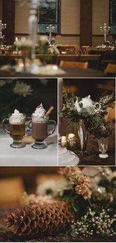 Decorating ideas for a Christmas wedding