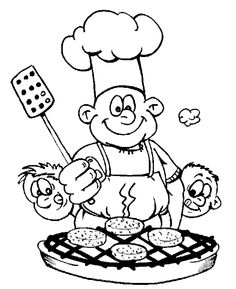 Bbq coloring plate coloring crafty coloring coloring sheet graphics - 1000 Images About Men And Boys Digi Stamps On Pinterest