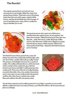 OH YEA!!! Not just a kids treat anymore! lol How To: Make Vodka Spiked Gummy Bears