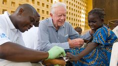 The Carter Center uses simple, low-cost methods to fight preventable diseases. These techniques — the use of water filters, medicine, affordable latrines, and bed nets — coupled with community health education and outreach, can pay large dividends in global health, enhancing quality of life, increasing productivity, and strengthening communities.