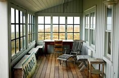 Image of: Enclosing A Porch With Glass