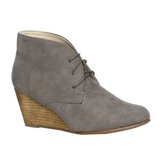 Gemo 34€ Wedge Ankle Boots, Wedges, Pretty, Beautiful, Shoes, Fashion, Wedge Heels, Ankle Boots, Shoe