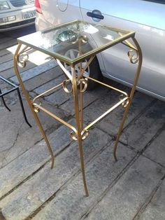 Unique Coffee Table, Coffe Table, Table Legs, Wood Table, Iron Furniture, Furniture Design, Mesa Metal, Hallway Table Decor, Iron Stair Railing
