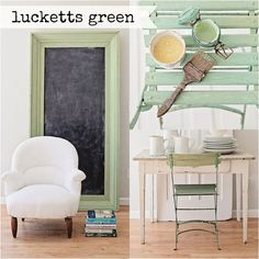 Miss Mustard Seed Milk Paint - Lucketts Green - 1 qt. Furniture Wax, Green Furniture, Furniture Makeover, Painted Furniture, Milk Paint Furniture, Furniture Refinishing, Refurbished Furniture, Upcycled Furniture, Fresco