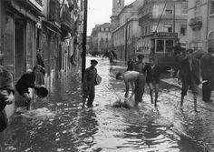 Inundações, Rua de São Paulo - 1946