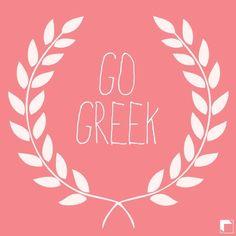 Go Greek by Adam Block Design | Custom Greek Apparel & Sorority Clothes | www.adamblockdesign.com