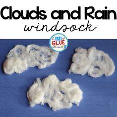 Clouds and Rain Weather Windsock Craft via @dabofgluewilldo