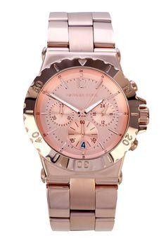 Rose Gold Chronograph watch - Michael Kors