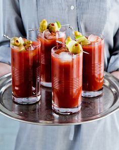 "Bloody Mary's are like the ""kitchen sink"" of cocktails, if you will, so what else could possibly be added for even more flavor? BBQ bitters, that's what."