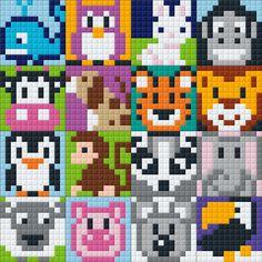 Tiny Cross Stitch, Beaded Cross Stitch, Cross Stitch Designs, Cross Stitch Patterns, Hama Beads Patterns, Loom Patterns, Beading Patterns, Quilt Patterns, Safety Pin Art