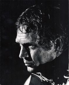 "Steve McQueen - PR Movie Still 1974 WB ""Towering Inferno"" 8x10 B/W Steve Mcqueen Motorcycle, The Towering Inferno, Steve Macqueen, American Legend, Film Music Books, Video Film, Classic Movies, Classic Hollywood, Celebrity Photos"