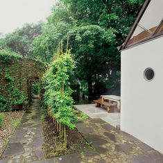 The Mill House, a finely-crafted guest house set among beautiful water features and lush landscaping. It has one bedroom and a sauna in 538 sq ft. |…
