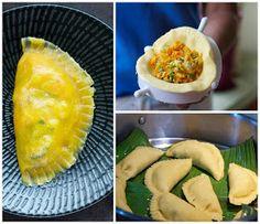 Indonesian Medan Food: Chai Pau Medan ( Steamed Vegetable Cake Medan Style)