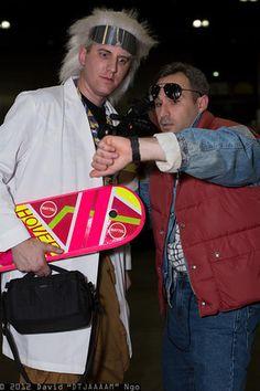 "Doc Brown & Marty - Comikaze 2012 - - Saturday - Cosplay Photos from David ""DTJAAAAM"" Ngo"