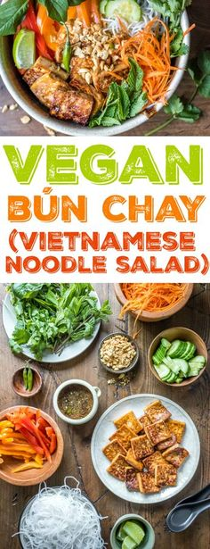 Vegan Bun Chay: One of my very favorite meals to make-ahead for weekday lunches. LOTS of bold flavor, plus it can be enjoyed either cold or at room temperature.