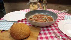 Zelfgebakken volkorenbrood met spek en bruine suiker | VTM Koken