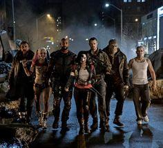 La Suicide Squad au complet défile dans de nouvelles images du film
