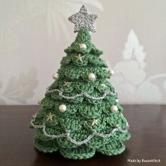 Crochet Christmas tree Made by BautaWitch - free pattern.