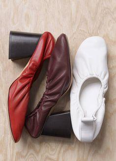 SOFT BALLERINA PUMPS - Spring / Summer Runway 2015 collections - Shoes | CÉLINE