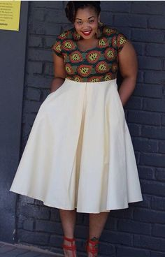 Online Hub For Fashion Beauty And Health: Lovely Ankara Fitted Blouse For The Pretty Plus Size Divas African Dresses For Women, African Print Dresses, African Attire, African Wear, African Fashion Dresses, African Women, African Prints, African Fashion Designers, African Inspired Fashion