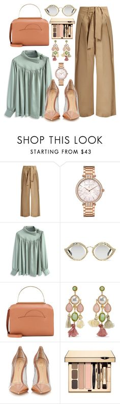 """""""Untitled #650"""" by pesanjsp ❤ liked on Polyvore featuring Sea, New York, Harry Winston, Chicwish, Gucci, Roksanda, Ben-Amun, Gianvito Rossi and Clarins"""