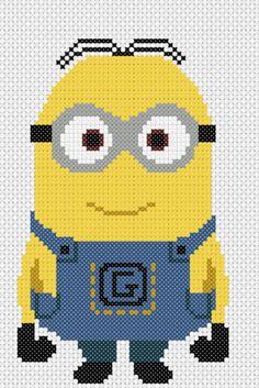 Dave minion - Despicable Me pattern by Geek Stitch