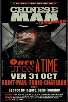 CHINESE MAN en concert le vendredi 31 octobre à SAINT-PAUL-TROIS-CHÂTEAUX (26)