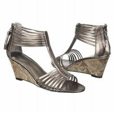 Bandolino Jopa Shoes (Pewter Metallic) - Women's Shoes - 10.0 M