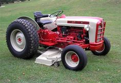 Ford 671 Select-O-Speed with belly mount mower deck.