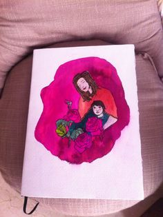Cuaderno hecho a mano, e ilustrado