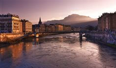 Grenoble, France Living here was one of the best experiences of my life. It's a wonderful place and I highly recommend it to everyone on your bucket list!