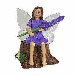 Fairy Homes and Gardens - Lavender Secret Garden Flower Fairy, $10.00 (https://www.fairyhomesandgardens.com/lavender-secret-garden-flower-fairy/)