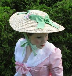 nice Colonial Williamsburg hats for Women   Creating An 18th Century Style Hat and Do...