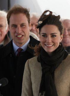 Kate Middleton Photos: Prince William and Kate Middleton visit Trearddur Bay RNLI Lifeboat Station