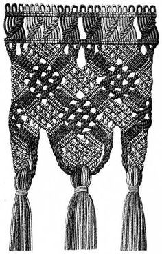 this site is AMAZING! extensive detailed explanations and diagrams on how to crochet, sew, knit, macrame, tat...