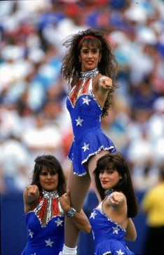 f4e42c4b43 New England Patriots Cheerleaders in 1993. Nfl New England Patriots
