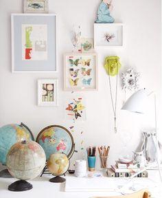 LUV DECOR: Detalhes: Gallery wall / baby room