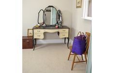 Kidney Shape Dressing Table   Dressing Tables   The Treasure Trove   Shabby Chic Furniture