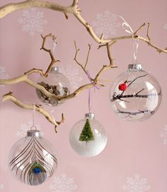 Christmas: DIY Ornaments