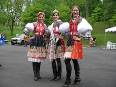 czech republic national costume - group picture, image by tag - keywordpictures.com?  Hands on hips!