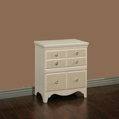 Sandberg Furniture Marilyn 2 Drawer Nightstand