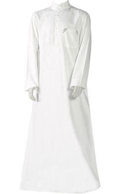 Garment Nation of Islam White Poly Poplin Standard 3 Piece M.G.T