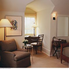 Showcase Guest Bedroom - contemporary - bedroom - san francisco - Michael Merrill Design Studio, Inc