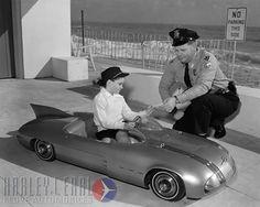 1956 Pontiac Club De Mer pedal car