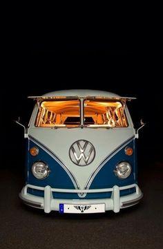 Classic VW van Photo