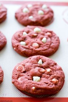 Thick, chewy, and packed with white chocolate chips!: