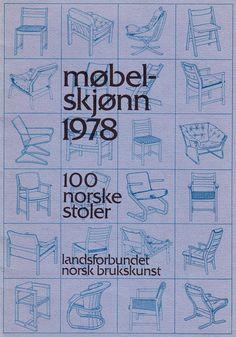 MØBELSKJØNN 1978 – 97 NORSKE STOLER – Mats Linder Bullet Journal, Design